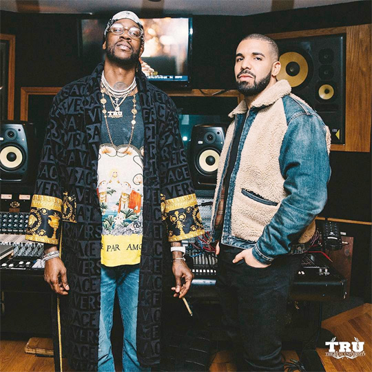 2 Chainz & Drake Hit Up The Studio To Work On Pretty Girls Like Trap Music