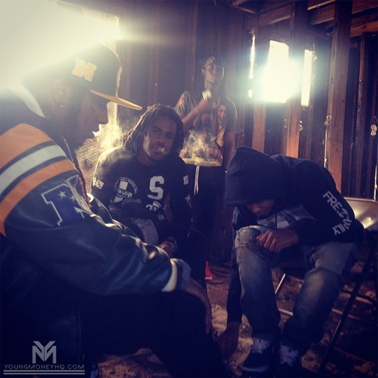 On Set Of Albert Hagan, Flow & Negus Prayers Go Up Video Shoot
