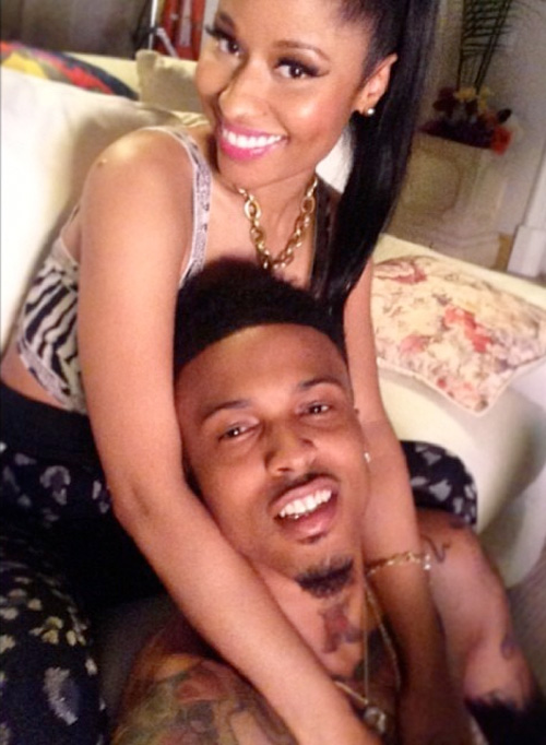 On Set Of August Alsina & Nicki Minaj No Love Video Shoot