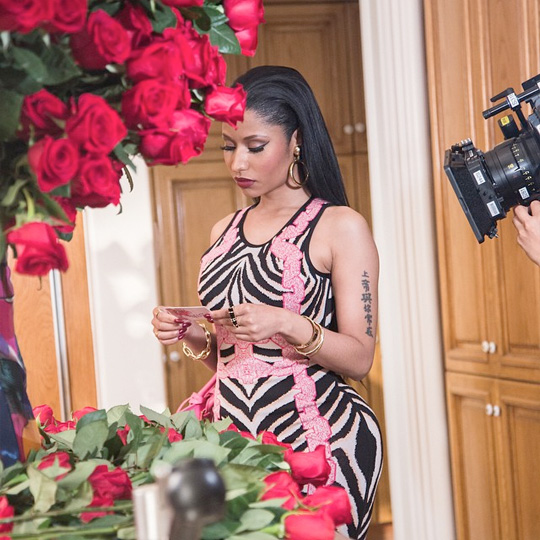 Behind The Scenes Pictures From August Alsina & Nicki Minaj No Love Video Shoot