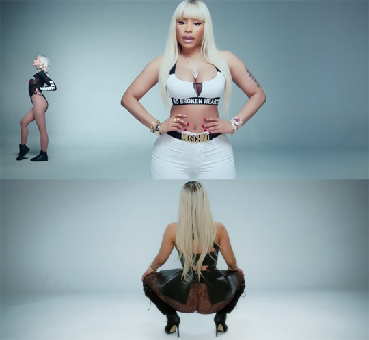 Bebe Rexha No Broken Hearts Feat Nicki Minaj Music Video