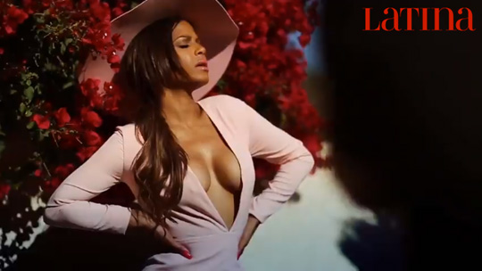 Behind The Scenes Of Christina Milian Cover Shoot With Latina Magazine