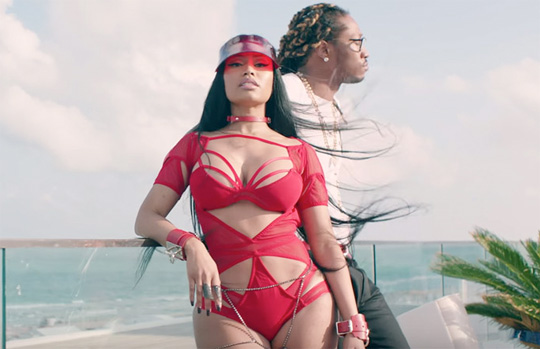 Behind The Scenes Of Future & Nicki Minaj You Da Baddest Video