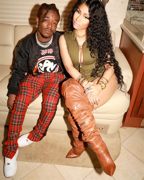 Behind The Scenes Of Lil Uzi Vert & Nicki Minaj The Way Life Goes Video