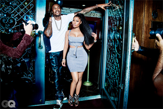 Behind The Scenes Of Nicki Minaj & Meek Mill Photo Shoot With GQ