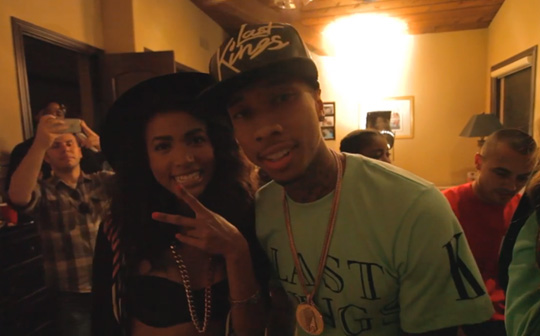 Behind The Scenes Of Sabi & Tyga Cali Love Video Shoot