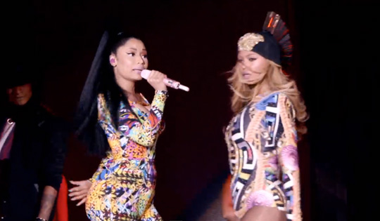 Beyonce Flawless Remix Feat Nicki Minaj Video
