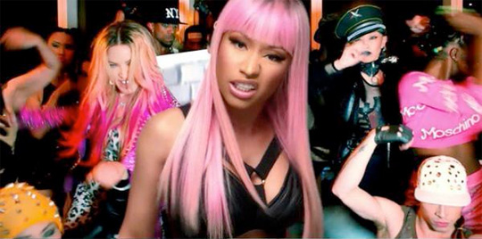 Madonna Bitch Im Madonna Feat Nicki Minaj Music Video