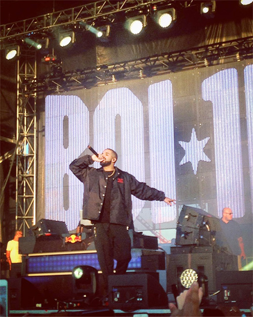 Boi-1da Brings Out Drake At The 2016 Mad Decent Block Party In Brooklyn New York City