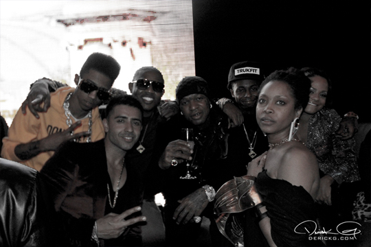 Pictures From Cash Moneys 2012 Pre-GRAMMY Party In Los Angeles