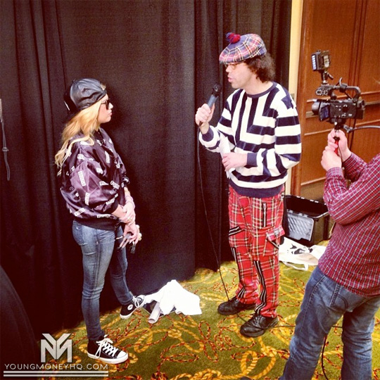 Nardwuar Interviews Chanel West Coast