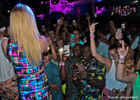 Chanel West Coast Performs At PLUSH Nightclub In Dallas Texas