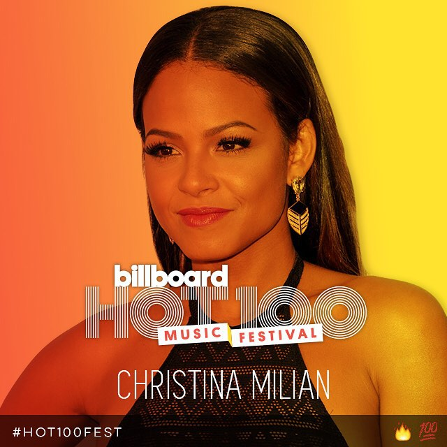 Christina Milian Has Been Added To The Lineup Of Billboard 2015 Hot 100 Festival In New York