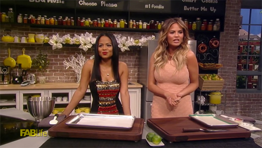 Christina Milian & Chrissy Teigen Bake Cookies For National Cookie Day