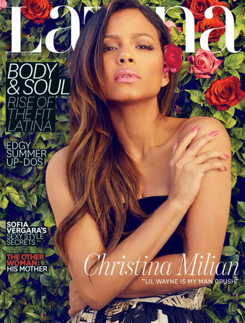 Christina Milian Covers Latina Magazine, Discusses Lil Wayne, Haters & More