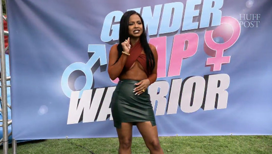 Christina Milian Hosts Gender Gap Warrior From HuffPost Celebs Have Issues Series