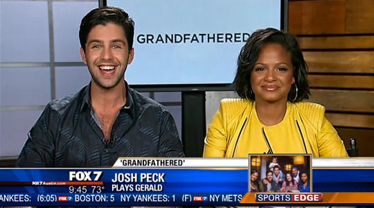 Christina Milian & Josh Peck Talk About Their Roles In Grandfathered & Working With John Stamos