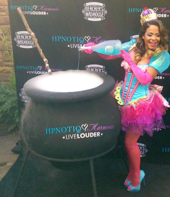 Christina Milian Launches Hpnotiqs New Halloween Cocktail In Hollywood