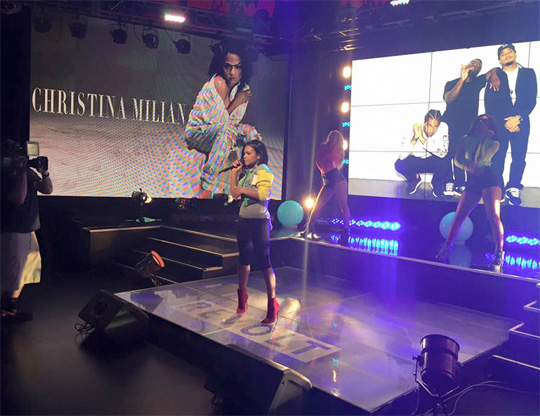Christina Milian Performs Her Like Me Single Live On REVOLT