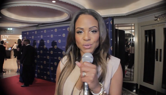 Christina Milian Says She Hopes To Get Lil Wayne On Her New Project At Didier Drogba Charity Event