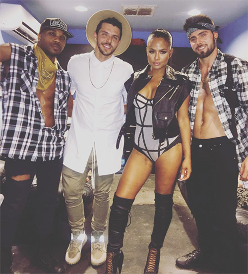 Christina Milian Performs Say I, Do It, Like Me, Dip It Low & More Live At Richs Gay Bar In San Diego