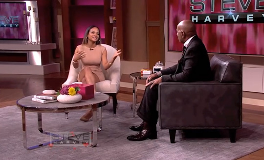 Christina Milian Chats To Steve Harvey About Wanting A Bigger Butt & Her Most Romantic Moment