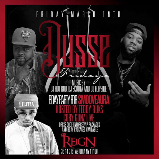 Cory Gunz To Host & Perform Live At Club Reign In New York For SmooveAura Birthday