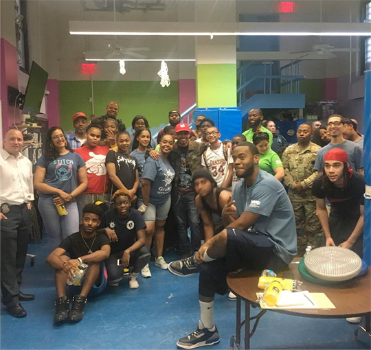 Cory Gunz Speaks To The Youth At A Stop The Violence Event In New York