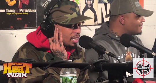 Cory Gunz Spits A Freestyle On TTS Lets Get This Over With Podcast