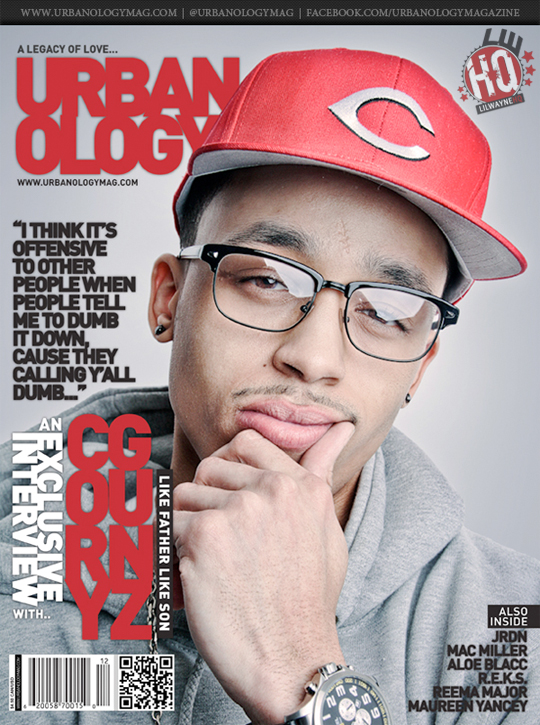 Cory Gunz Covers Urbanology Magazine