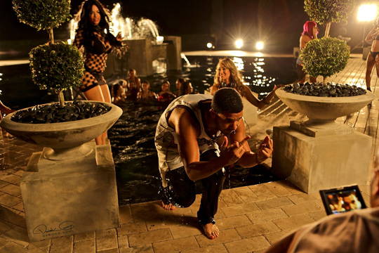 More Photos Of Drake On Set Of DJ Khaled No New Friends Video Shoot