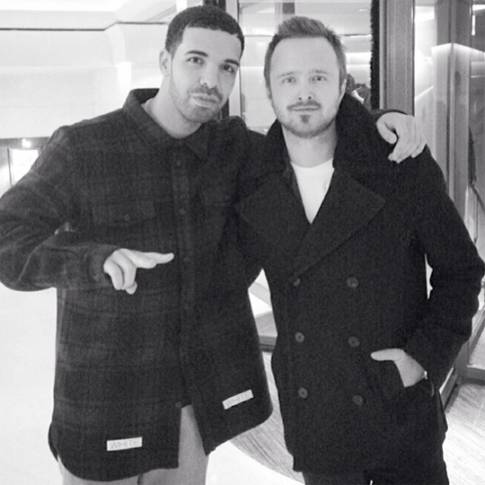 Aaron Paul Talks Meeting Drake & Rihanna Getting Him On To The TV Show
