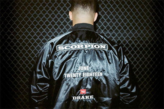 Drake Announces His New Album Titled Scorpion