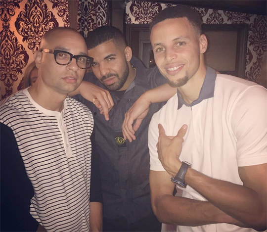 Drake Attends Ayesha Curry Restaurant Grand Opening In San Francisco