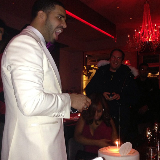 Drake Celebrates 27th Birthday With Family & Friends In Toronto Canada