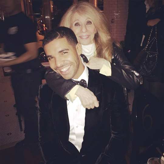 Drake Celebrates 28th Birthday At Bent Restaurant In Toronto With Family & Friends