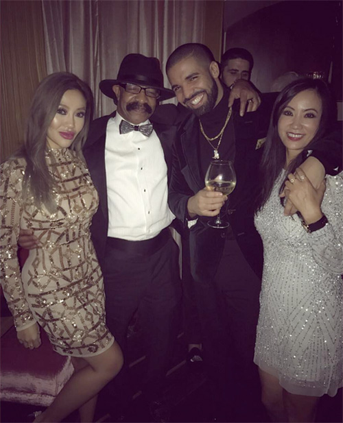 Drake Celebrates 30th Birthday At Delilah Lounge In Los Angeles