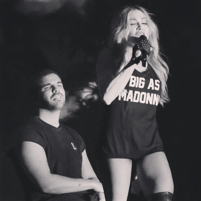 Drake Performs Live At Coachella 2015, Brings Out Madonna & Gets A Kiss
