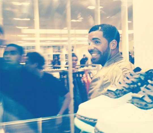 Fans Go Crazy For Drake As He Makes In-Store Appearance At Colette In Paris France