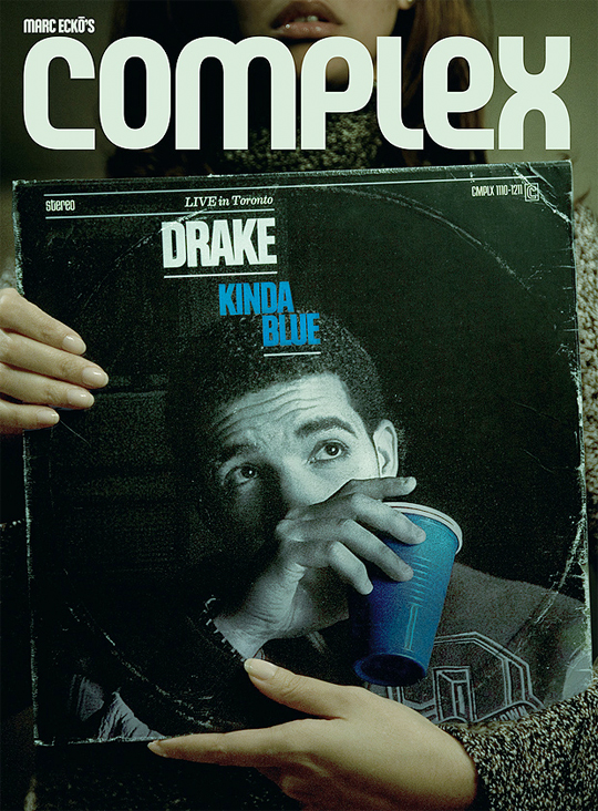 Drake Covers Complex Magazines December 2011-January 2012 Issue