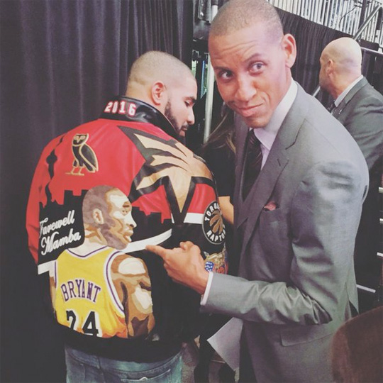 Drake Talks Giving His Custom Kobe Bryant Jacket To Steph Curry & More
