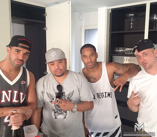 Drake Is Directing P Reign DnF Music Video Featuring Himself In Sint Maarten