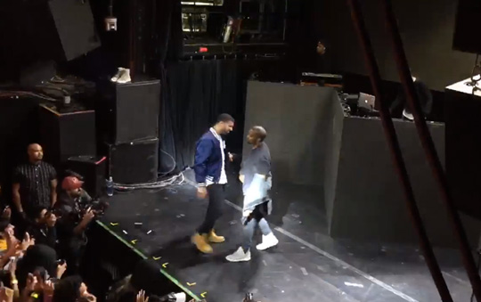 Drake Performs Energy & Blessings, Covers Rihanna FourFiveSeconds & Brings Out Kanye West At Sprite Event