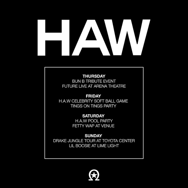 Drake Reveals The Full Schedule For His 2nd Annual Houston Appreciation Weekend