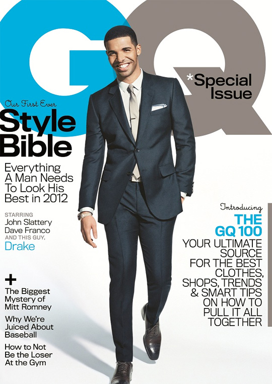Drake Covers April Issue Of GQ Magazine
