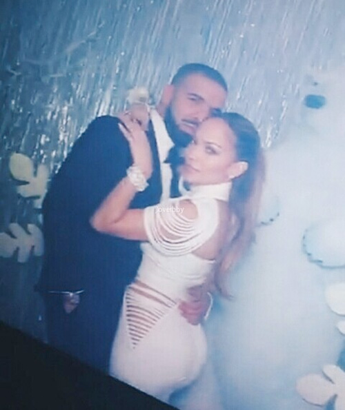 Drake & Jennifer Lopez Slow Dance, Share A Kiss On The Lips & Play A New Collaboration At Winter Wonderland Prom