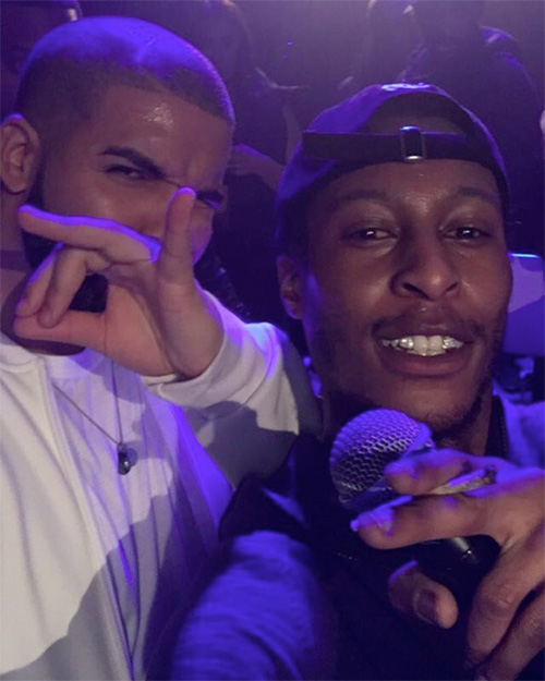 Drake Performs Jumpman Live At A Skepta & Section Boyz Show In London