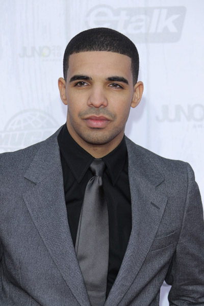 Drake At The 2010 Juno Awards