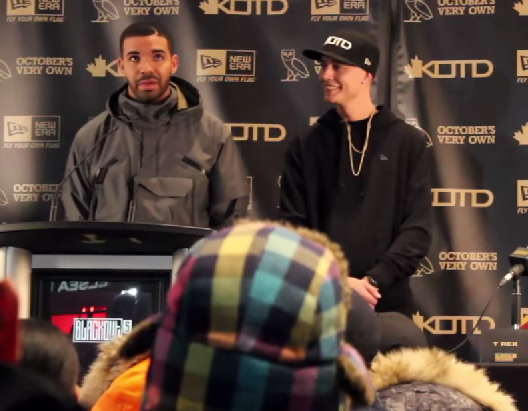Drake Speaks At The King Of The Dot Blackout 5 Press Conference In Toronto