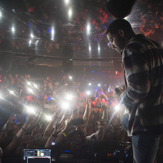 Drake Performs Live At Marquee Sydney Nightclub In Australia